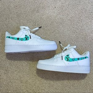 Nike Air Force 1 Custom LV sneakers